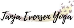 Yoga på Hamar med Tanja Evensen. Yogaretreats i Norge og utlandet. Logo